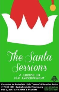 The Santa Sessions @ Springfield Little Theatre | Springfield | MO | United States